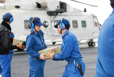 熊本益城町の地震への災害派遣(大村航空基地)No14