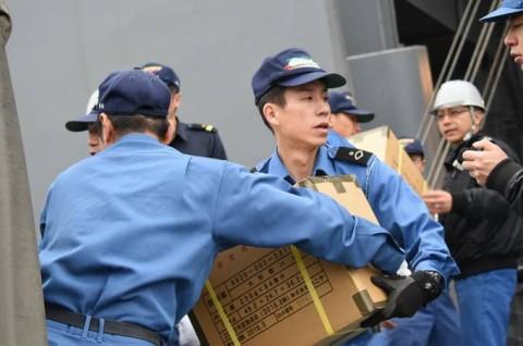熊本益城町で発生した地震への災害派遣(輸送艦「おおすみ」No2