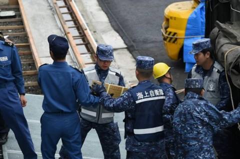 熊本益城町で発生した地震への災害派遣(輸送艦「おおすみ」No5