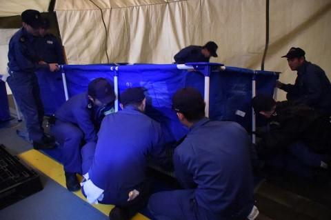 熊本地震への災害派遣(輸送艦「おおすみ」)1