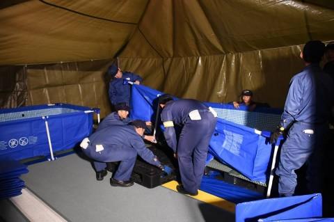 熊本地震への災害派遣(輸送艦「おおすみ」)3