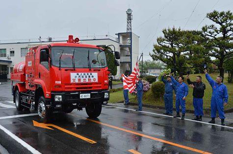 熊本地震への災害派遣(小月航空基地)1