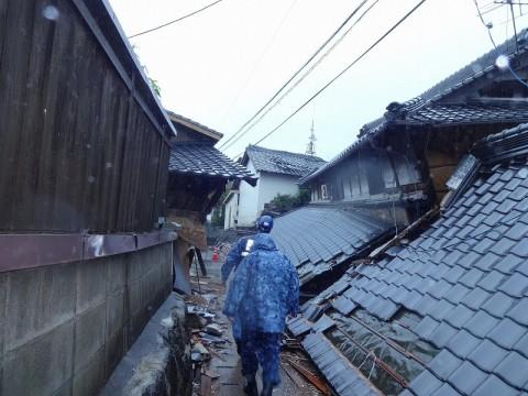 熊本地震への災害派遣(機動施設隊(八戸))03