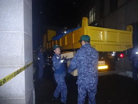 熊本地震への災害派遣(機動施設隊(八戸))06