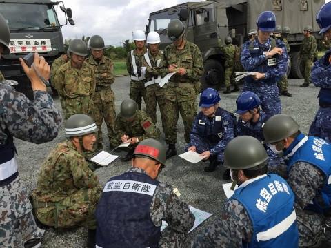 熊本地震への災害派遣(機動施設隊(八戸))07