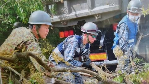 熊本地震への災害派遣(機動施設隊(八戸))10