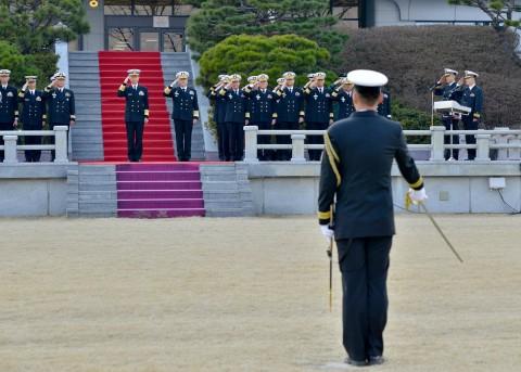 海上幕僚長 大韓民国海軍訪問2