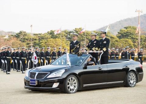海上幕僚長 大韓民国海軍訪問4