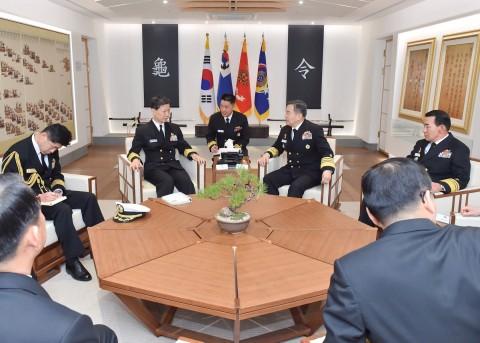 海上幕僚長 大韓民国海軍訪問5