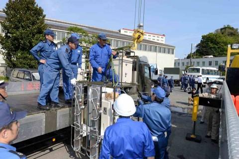 熊本地震への災害派遣(横須賀地方隊)2