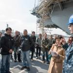 フォロワー限定米海軍横須賀基地見学ツアー[在日米海軍司令部facebook]