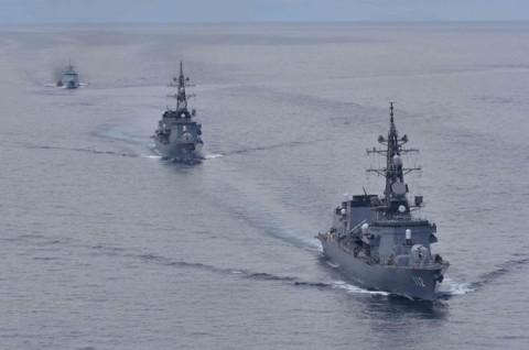 防衛省 海上自衛隊 派遣海賊対処法 水上部隊(23次隊)no2