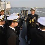 防衛省海上自衛隊 幹部候補生 近海練習航海2016(練習艦隊)6