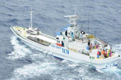 海上自衛隊 館山航空基地 第21航空群 漁船乗員の洋上における救難no1