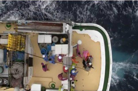 海上自衛隊 館山航空基地 第21航空群 漁船乗員の洋上における救難no3