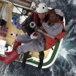 海上自衛隊 館山航空基地 第21航空群 漁船乗員の洋上における救難