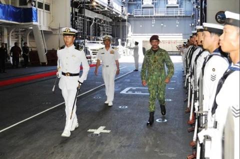 ADMMプラス海洋安全保障実動訓練 防衛省海上自衛隊no1