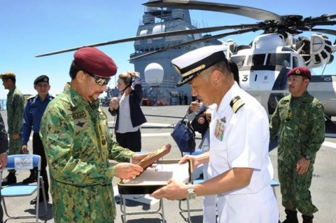ADMMプラス海洋安全保障実動訓練 防衛省海上自衛隊no6