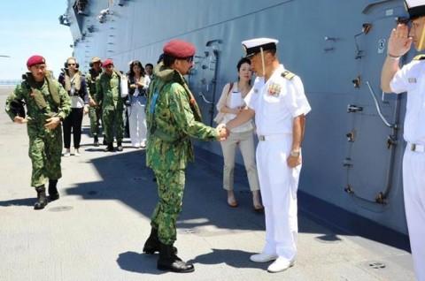 ADMMプラス海洋安全保障実動訓練 防衛省海上自衛隊no7