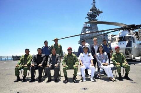 ADMMプラス海洋安全保障実動訓練 防衛省海上自衛隊no8
