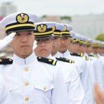 防衛省 海上自衛隊 一般幹部候補生 遠洋練習航海2016出国