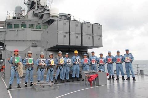 海上自衛隊 派遣海賊対処行動水上部隊(24次隊) 護衛艦「ゆうぎり」隊員の記録5no7