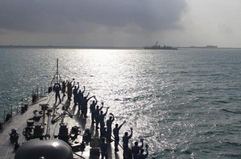 海上自衛隊 派遣海賊対処行動水上部隊(24次隊) 護衛艦「ゆうぎり」隊員の記録5no9