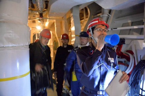 海上自衛隊 一般幹部候補生 近海練習航海(練習艦隊)の記録6no02