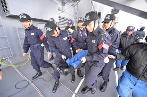 海上自衛隊 一般幹部候補生 近海練習航海(練習艦隊)の記録6no04