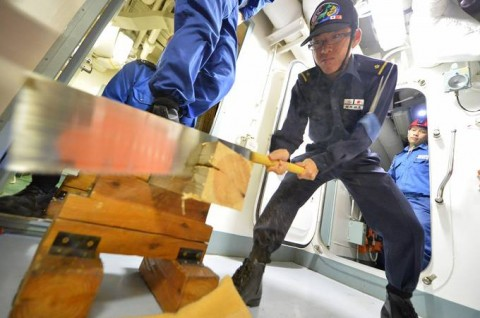 海上自衛隊 一般幹部候補生 近海練習航海(練習艦隊)の記録6no05