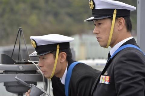 海上自衛隊 一般幹部候補生 近海練習航海(練習艦隊)の記録6no06