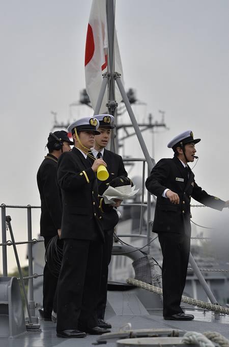 海上自衛隊 一般幹部候補生 近海練習航海(練習艦隊)の記録6no07