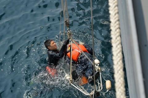海上自衛隊 一般幹部候補生 近海練習航海(練習艦隊)の記録6no08