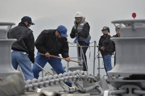 海上自衛隊 一般幹部候補生 近海練習航海(練習艦隊)の記録6no10