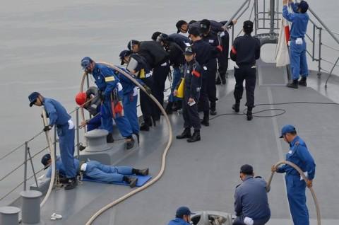 海上自衛隊 一般幹部候補生 近海練習航海(練習艦隊)の記録6no12