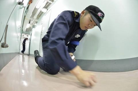海上自衛隊 一般幹部候補生 近海練習航海(練習艦隊)の記録6no13