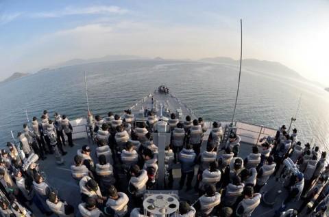 海上自衛隊 一般幹部候補生 近海練習航海(練習艦隊)の記録6no15