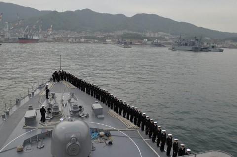 海上自衛隊 一般幹部候補生 近海練習航海(練習艦隊)の記録6no16