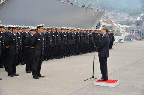 海上自衛隊 一般幹部候補生 近海練習航海(練習艦隊)の記録6no17