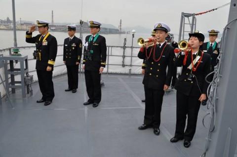 海上自衛隊 一般幹部候補生 近海練習航海(練習艦隊)の記録6no18