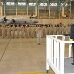 23次派遣海賊対処行動航空部隊出国行事 海上自衛隊鹿屋航空基地