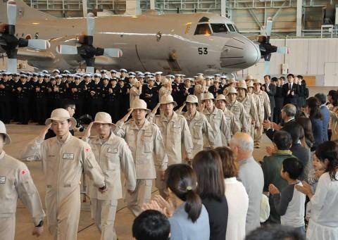 23次派遣海賊対処行動航空部隊出国行事 海上自衛隊鹿屋航空基地No2