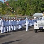 海上自衛隊 派遣海賊対処行動水上部隊(23次隊)のマレーシア寄港
