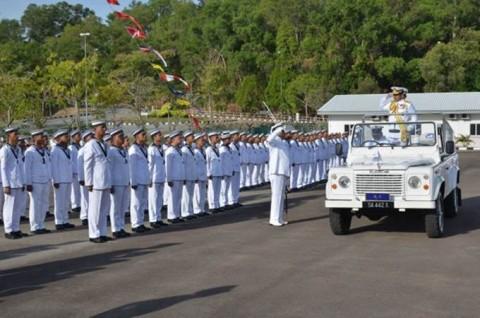 海上自衛隊 派遣海賊対処行動水上部隊(23次隊)のマレーシア寄港No07