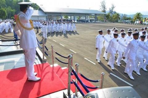 海上自衛隊 派遣海賊対処行動水上部隊(23次隊)のマレーシア寄港No09