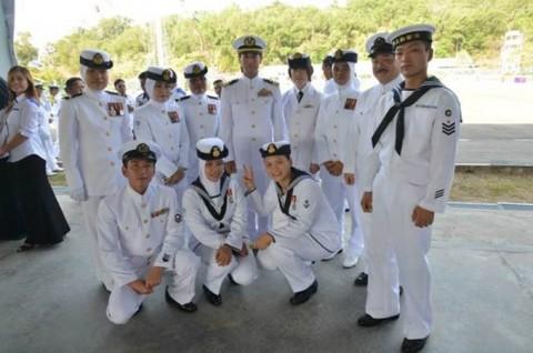 海上自衛隊 派遣海賊対処行動水上部隊(23次隊)のマレーシア寄港No11