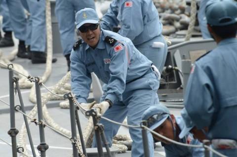 防衛省 海上自衛隊 ソマリア 海賊対処 水上部隊(24次隊) 記録6no4
