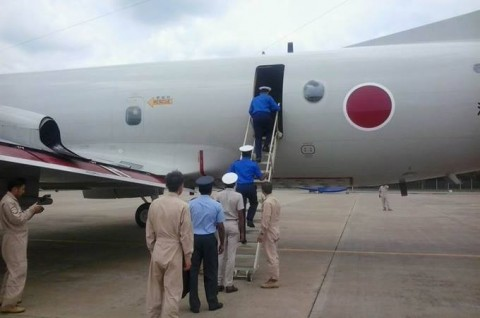 海上自衛隊 海賊対処行動航空部隊 スリランカ海軍との親善訓練no02