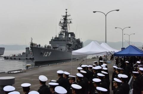 海上自衛隊 護衛艦「やまゆき」→練習艦「やまゆき」呉初度入港no01