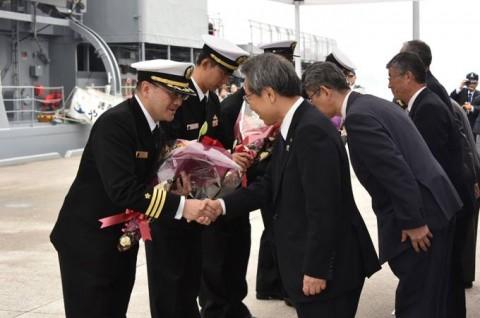 海上自衛隊 護衛艦「やまゆき」→練習艦「やまゆき」呉初度入港no03